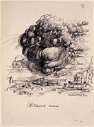"""Dibujo de Salvador Dali para """"la vida secreta..."""""""