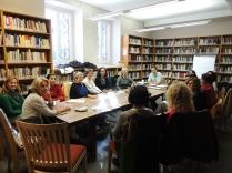 Sesión octubre English Reading Circle