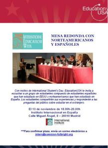 Mesa redonda Education USA