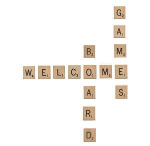 WBG Scrabble letters