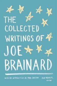 Joe brainard collected writings