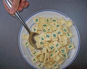 Sopa de letras scrabble
